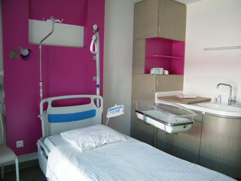 chambre maternité