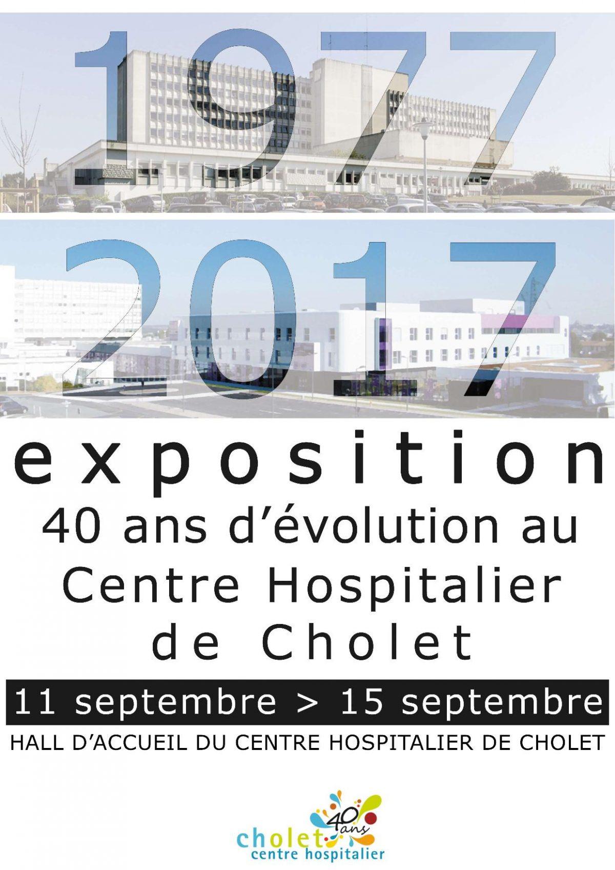 40 ans Centre Hospitalier Cholet
