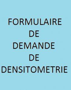 Icône formulaire demande dosimétrie