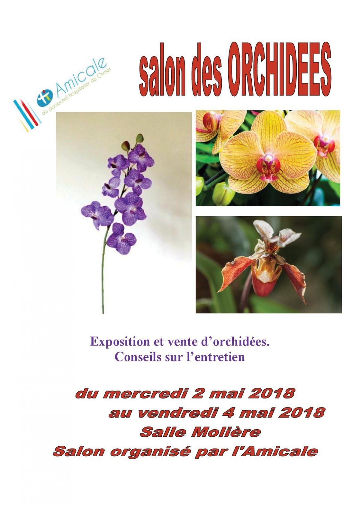 Salon des orchidées 2018