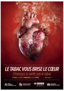 Affiche Journée mondiale sans tabac 2018