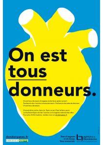 Affiche 2018 Don d'organes