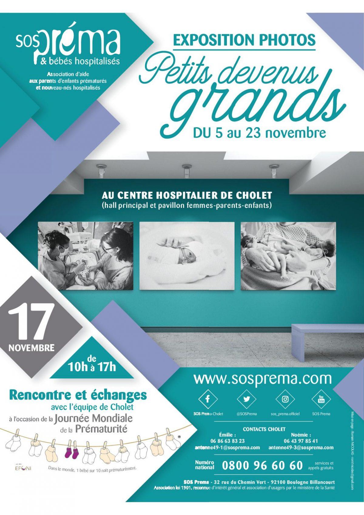 Exposition Photos : Petits devenus grands du 5 au 23 novembre 2018