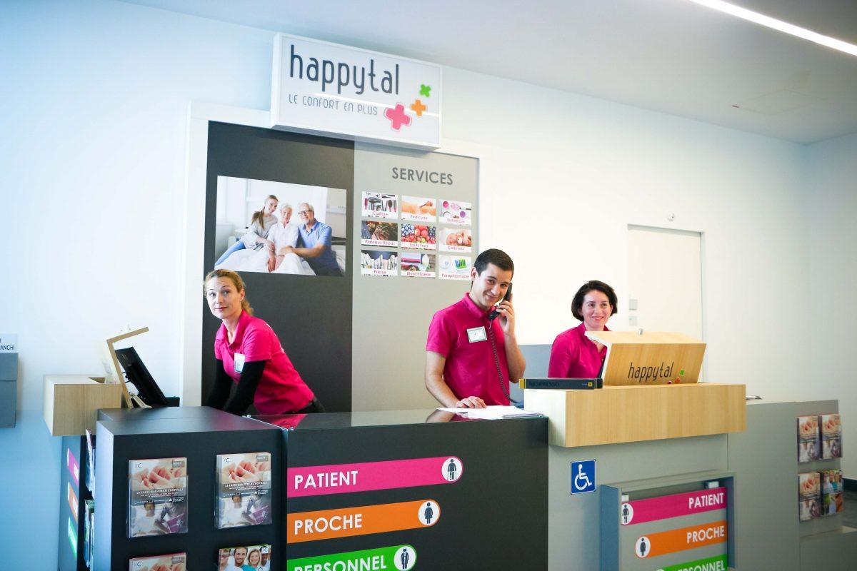 Service de conciergerie happytal