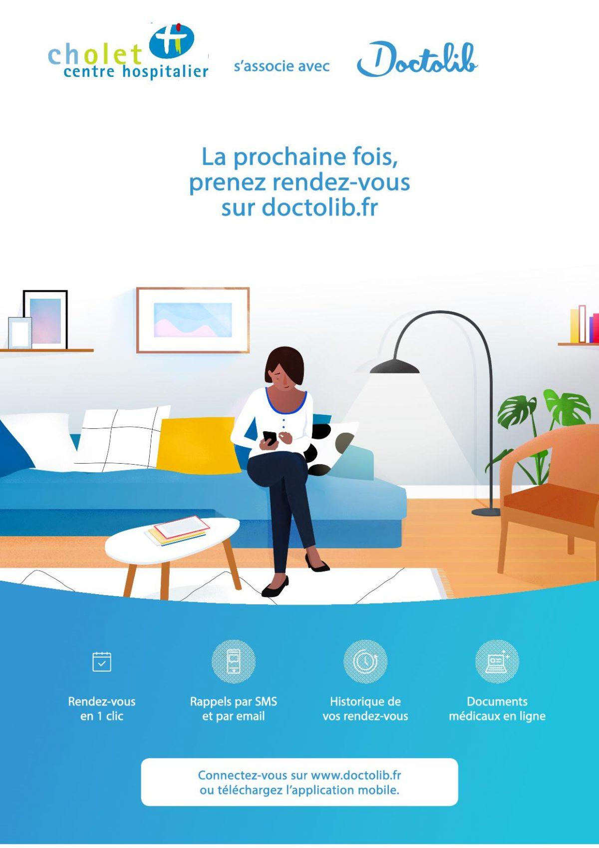 Doctolib_Centre Hospitalier de Cholet