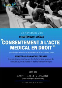 Affiche Conférence Dr Debarre