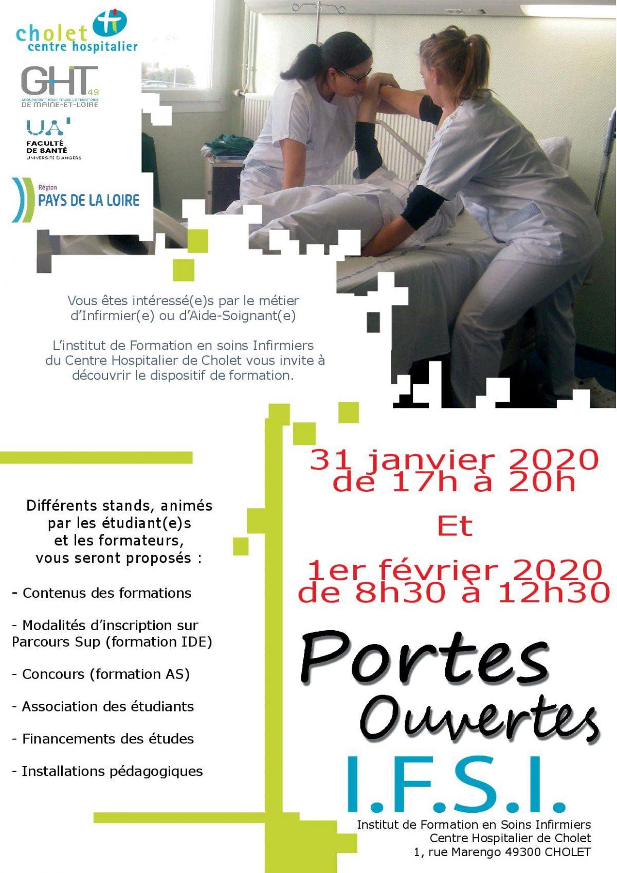 Portes ouvertes IFSI 2020