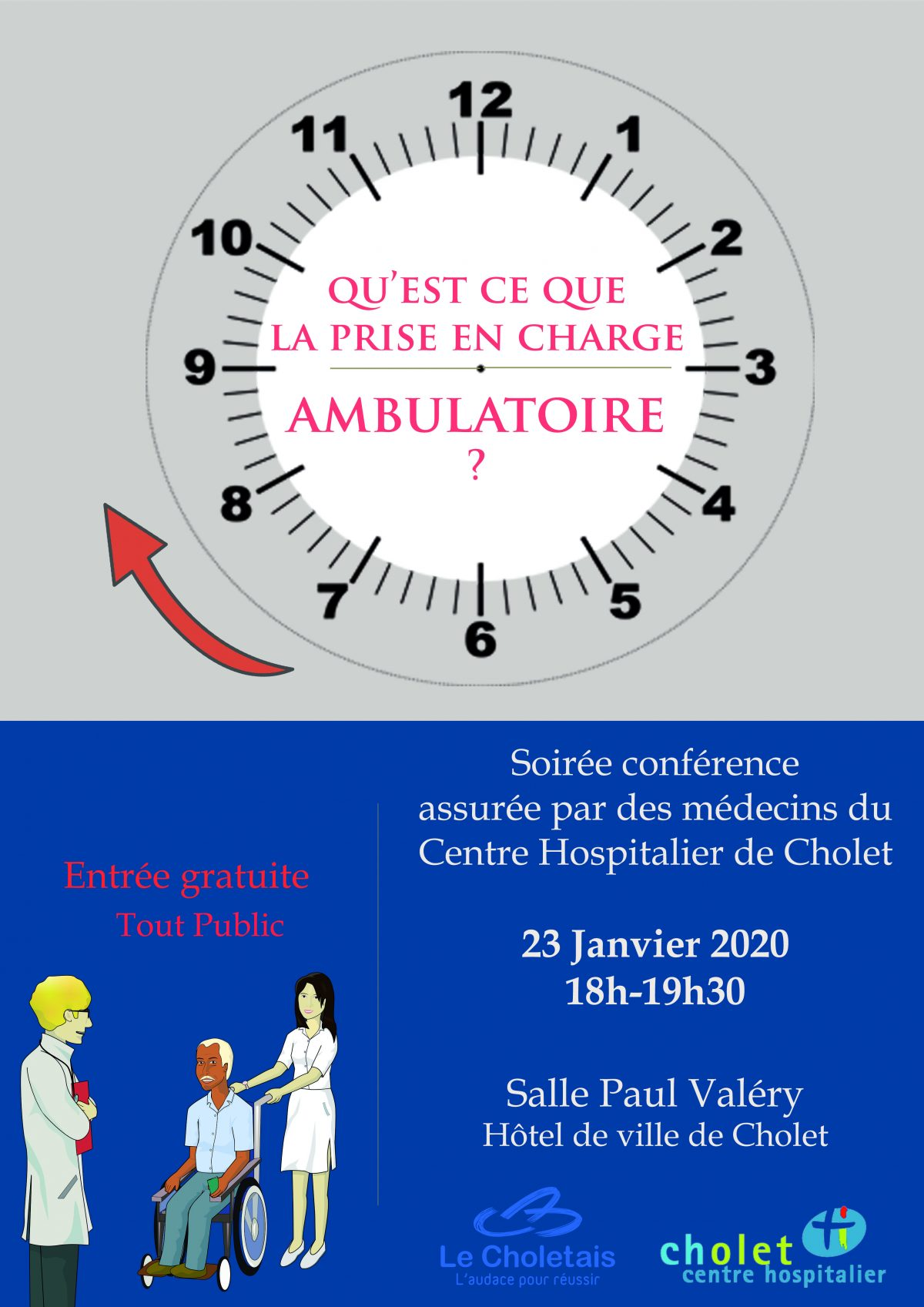 Conférence Prise en charge ambulatoire_Jeudi 23 janvier 2020