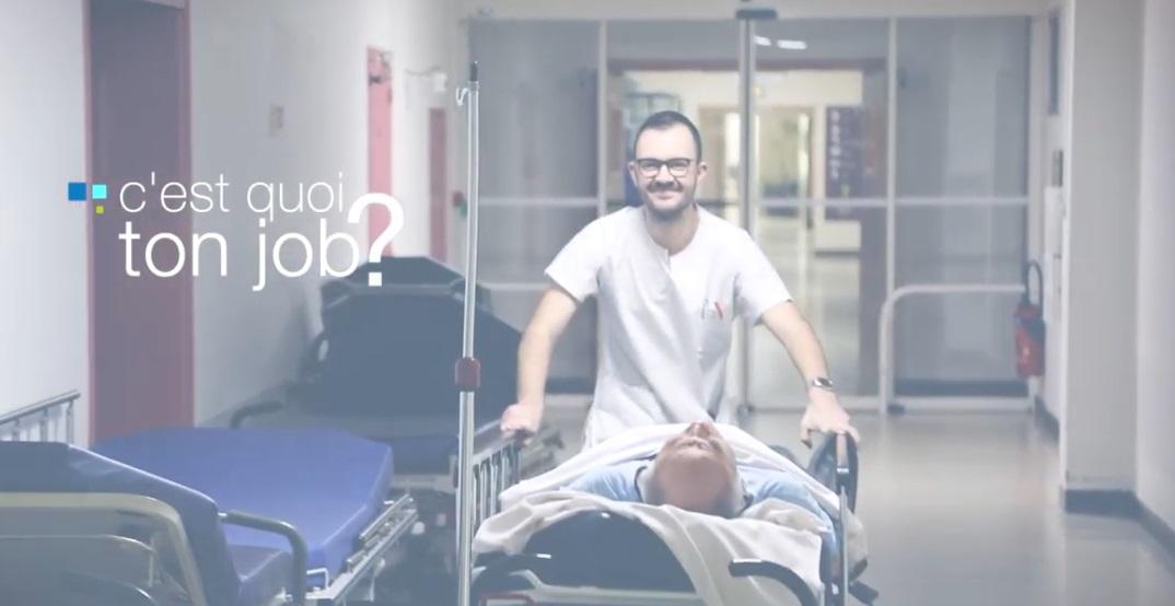 Découvrez une vidéo sur le métier de brancardier au Centre Hospitalier de Cholet