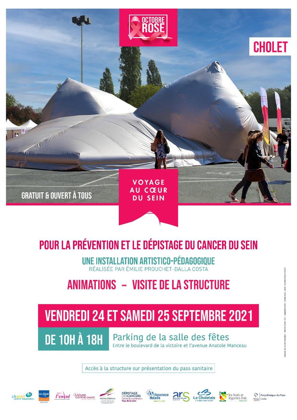 Octobre rose 2021 Cholet